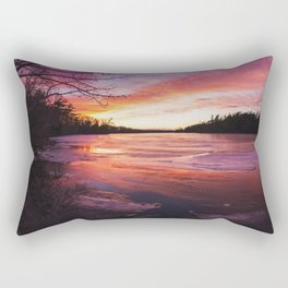 Intense Palette Rectangular Pillow