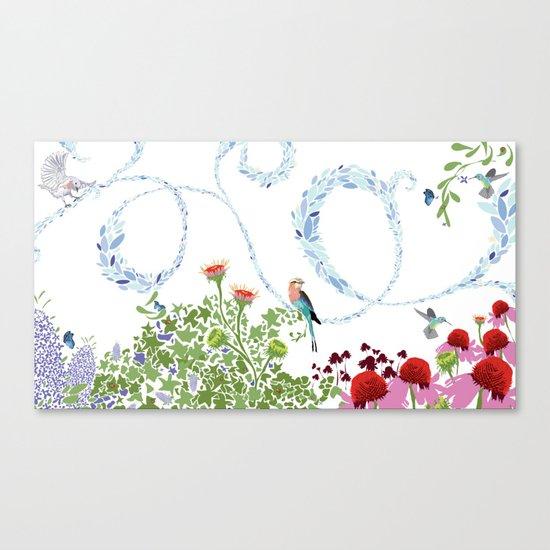 Meadow scene (full) Canvas Print