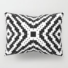 Abstract Pixels by Kimberly J Graphics Pillow Sham