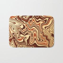 Brown Marble Bath Mat