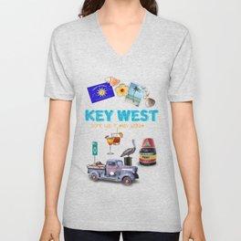 Key West Unisex V-Neck