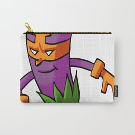Purple Eggplant Hero Foodietoon Veggie Superheroes Carry-All Pouch