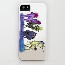 Unicorn Girl Gang iPhone Case