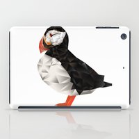 puffin iPad Cases featuring Puffin by LuftStudio