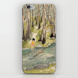 By The Creek iPhone Skin