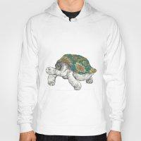 tortoise Hoodies featuring Tortoise by Ouizi - Los Angeles
