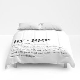 Hygge Definition Comforters