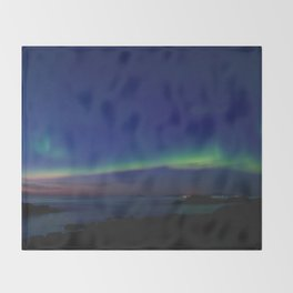 The Northern Lights 03 Throw Blanket
