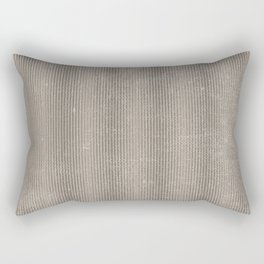 Vintage chic abstract gray geometrical stripes Rectangular Pillow