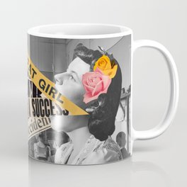 The talking girl Coffee Mug