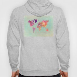 world map 102 #worldmap #map Hoody