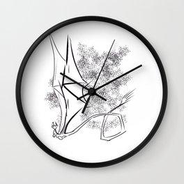 The Happy Dragon Wall Clock
