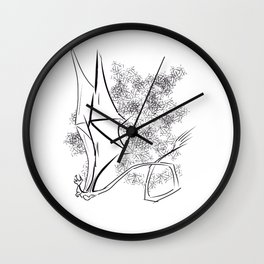 The Happy Dragon Wall Clock