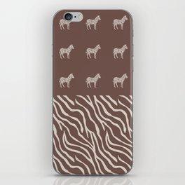 Animal Print iPhone Skin