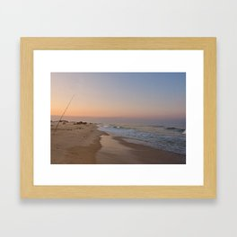 Down by the Shore Framed Art Print