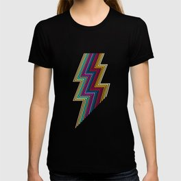 80's lightning T-shirt