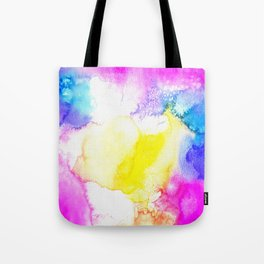 Watercolour Texture Tote Bag