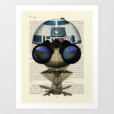 Star Wars R2-D2 Plucky Droid Art Print