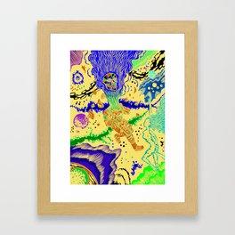 Boundless three-dimensional extent Framed Art Print