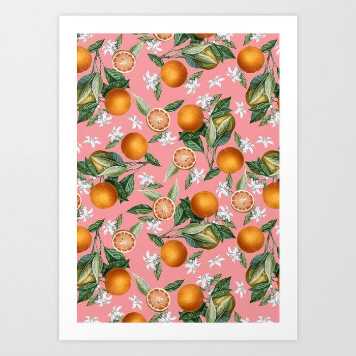 Lemon and Leaf Pattern V