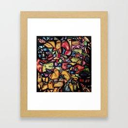 Hildegaard's Garden Framed Art Print