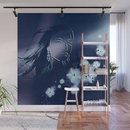 Dark Woman Wall Mural