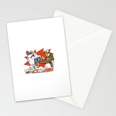 Bloody Computer Stationery Cards