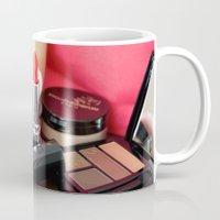 make up Mugs featuring Make-Up by Tanya Thomas