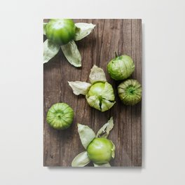Tomatillos Metal Print