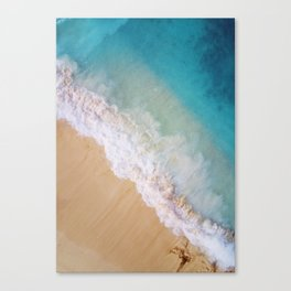 Dream Beach Wave II Canvas Print