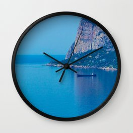 Blue Seascape Wall Clock