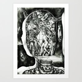 Concentric Sub-Levels Of Reality Art Print