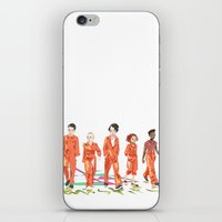 misfits iPhone & iPod Skins featuring Misfits by aNiark