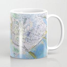 Pittsburgh Aerial Coffee Mug