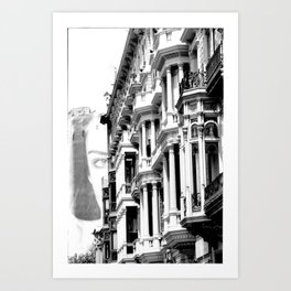 A Vision On ThE CiTy Art Print