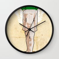 evolution Wall Clocks featuring Evolution by Marko Köppe