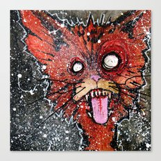 William the Cat Canvas Print
