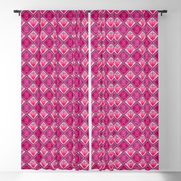Queen Of Hearts Blackout Curtain