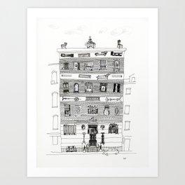 10th street 2 Art Print
