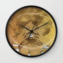 Aire de las Nieves Wall Clock