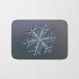 Real snowflake - Hyperion dark Bath Mat