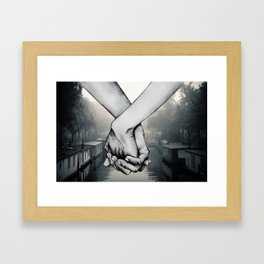 My Hand in Yours Framed Art Print