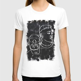 i can see the darkness in me and it's quite amazing T-shirt