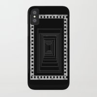 noir iPhone & iPod Cases featuring Noir by My own little world