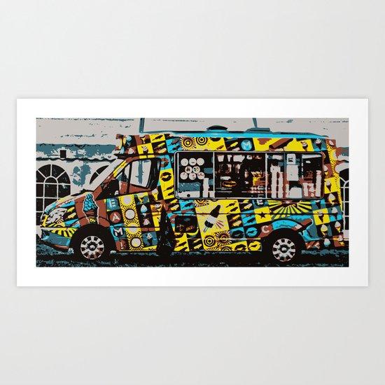 Scream For Ice-cream! Art Print