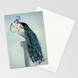 Secrets And Feathers Stationery Cards