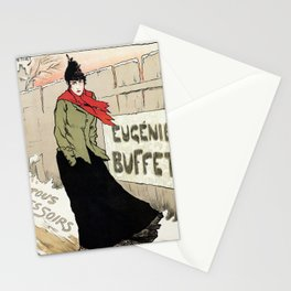 Eugénie Buffet winter Stationery Cards