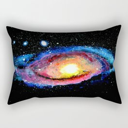 my little painting of andromeda Rectangular Pillow