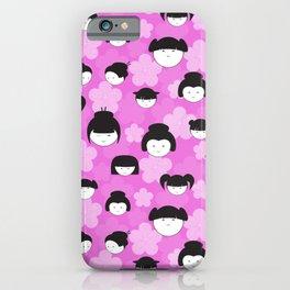 Smile Lavender iPhone Case