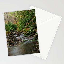 Woodland stream Stationery Cards